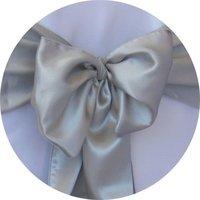 Free shipping /royal blue   satin chair cover sash /satin sash