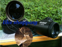 Free Ship BU3-9x50 Green&Red rifle scope Tactical Air Rifle Scopes with free mounts