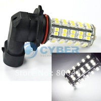 Free Shipping New 68 SMD 9006 HB4 LED HID White Daytime Running Car Fog Lights Bulbs 12V