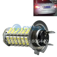 Free Shipping New Car 3528 102 SMD H7 LED Head Light Headlight Bulb Lamp 500 Lumens 12V Bright White