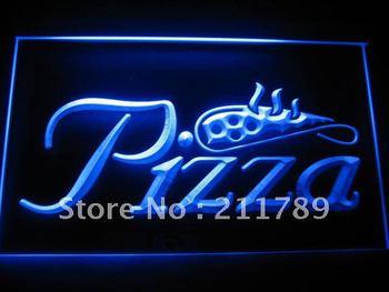 B052-G Pizza Shop Slice Display Shop NR Neon Light Sign