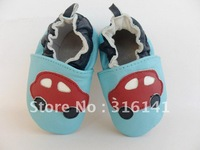2012 Newest TOP BABY prewalker baby shoes cute infant cartoon little car toddel Baby's walker shoe,Soft and Free Shipping