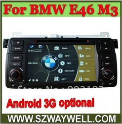 car radio can for BMW E46 M3 can built-in android system Wifi 3G(China (Mainland))