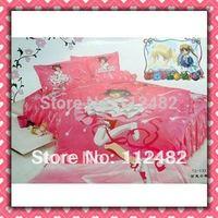 Cartoon Cotton children 3pcs Bedding Set Cardcaptor Sakura Kid Bedding Free Shipping