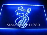 w0830Miller Lite Guitar Bar Beer Neon Sign