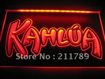 w6401Kahlua Coffee Neon Light Sign