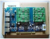 TDM410P opensource Asterisk card 4 Ports PCI card zaptel/dahdi driver for voip trixbox elastix ip pbx