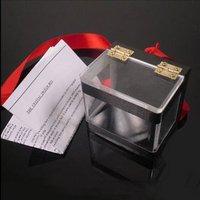 5piece/lot the crystal switch box -- magic tricks, magic sets, magic props, magic show magic