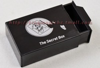 Double Magic Box/The Secret Box/magic toys/as seen on tv/ 2pcs/lot Free Shipping magic trick