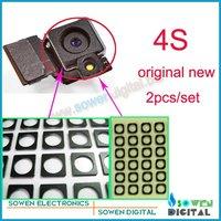 shielded sponge pad foam cushion for iphone 4s back camera rear camera windproof shockproof original 2pcs/set,Free shipping