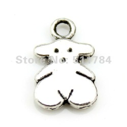 12mm tiny bear Charms(C11287)(China (Mainland))