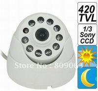 1/3 Sony CCD Surveillance Camera, IR LED, 4mm Lens  Free Shipping