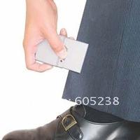 Wholesale 5pcs/lot Free shipping Geek Man! Ultra-slim Card Iron Cute Powerful Mini Travel Iron Pocket Iron