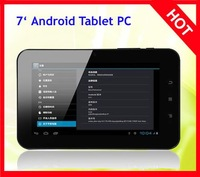 the Gazetteer A10 Allwinner 7 - inch five-point touch capacitive screen Android4.0 ice cream Boxchip