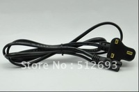 Tattoo Machine Power Supply Cable Cord 3 Prong UK Plug Figure-8 Connector
