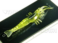 7X Big 3.5inch 9cm Fishy Smell Shrimp Fishing Lure Soft lure