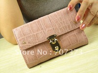 Free Shipping Wholesale And Retail Women&amp;#39;s Wallet Women&amp;#39;s Handbag Purse Short Style 6Colors