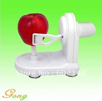 New arrival 1pcs/lot wholesale automatic fruit peeler apple corer slicer with adapter free shipping!