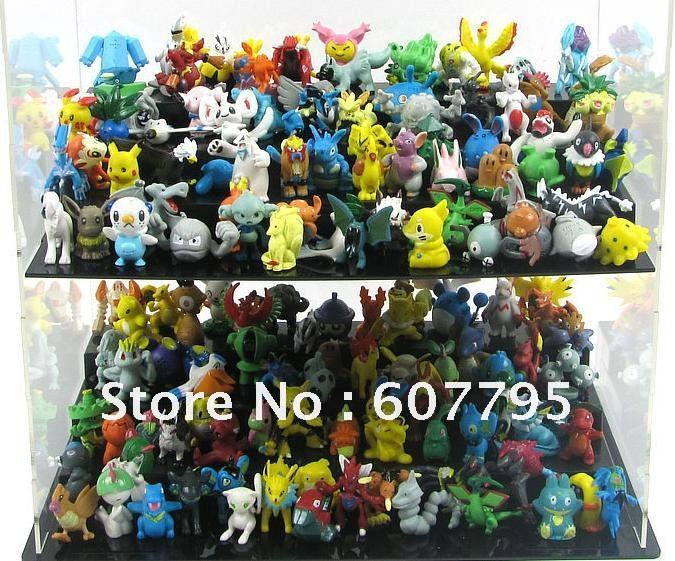 Free Shipping Whole sale Lots 144pcs Pokemon Action Figures 2-3cm toys/action toy figure/doll/educational blocks/solar(China (Mainland))