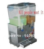 Double 2 Flavor Juice Dispenser or cold drink machine