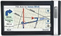 7 Inch Large Touchscreen GPS Navigator with Bluetooth and FM transmitter - 8GB TF Card