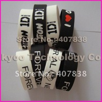 2012 new lmfao sexy and i know it wristband wide 202*25*2MM bracelet mixed order