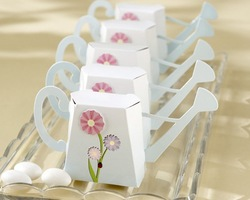 Free shipping Mini Watering Can Favor Box 100PCS/LOT candy gift boxes(China (Mainland))