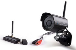 No Interference Home Wireless Camera Kit Security Syste 2 Camera +A Receiver(China (Mainland))