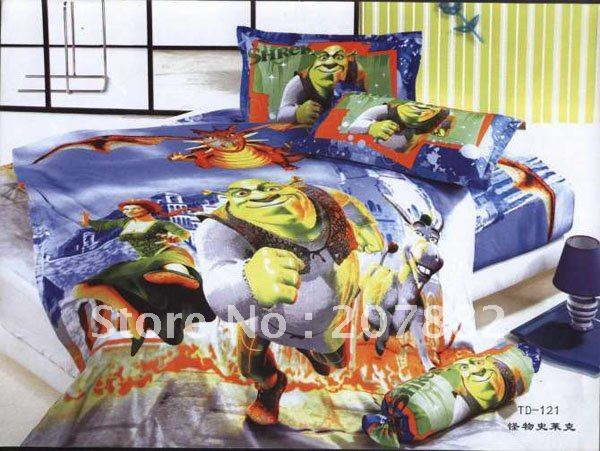 Free Shipping By DHL,UPS.EMS!! Toy Story 3 Cotton Single Bedding set Carotoon Children Bed Sheet A0794 on Sale Wholesale(China (Mainland))