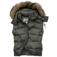 free shipping,2012 new arrive,fashion,best quality, feather down filled,women's down vest/waistcoat,wholesale and retail-white