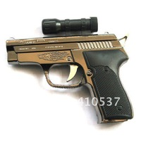 Free shipping 5pcs/lot YH229  Gun Lighter With Infrared Butance Gas Pistol Lighter Jet Torch Lighter attractive design Gift
