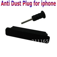 Free Shipping 100pcs/lot Anti Dust Plug for iphone,for Ipod touch,for Ipad,Data Cable Charge Interface Dust-Proof,a pair=2 pcs