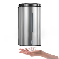 Purchasing Sample + Free Freight  600ML Automatic Soap Dispenser with flash Light  TGYSD-19