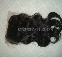 Hot !! Virgin Mongolian hair Top Closure