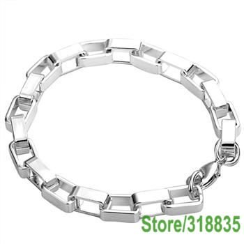 LQ-H203 Free Shipping Wholesale Jewelry Fashion Bracelets, 925 Silver Bracelets well connected cjualb catska(China (Mainland))