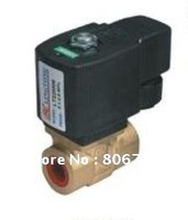 G1/4, DC12V/ AC12V Diaphragm Solenoid valve, High Temperature, High Pressure