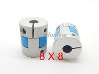 CNC stepper motor Flexible Plum Coupling shaft 8mmX8mm GFC