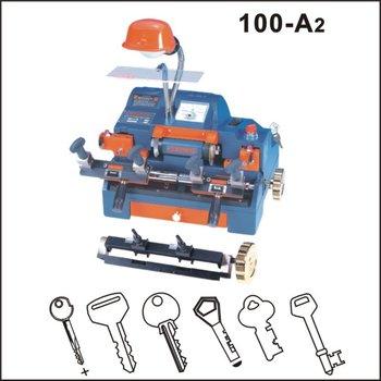 Top quality 100-A2 wenxing key copy machine,duplicate key cutting machine,used key cutting machine