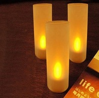 Свечи DHL 58pcs/lot LED candles, lights for home, seven color changing with voice control