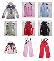 wholesale 2012 new women's ski suits warm Jackets windproof rainproof outdoor climbing jacket  free shipping