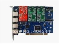 TDM400P opensource Asterisk card 4 Ports FXS/FXO PCI Asterisk analog/telephony card