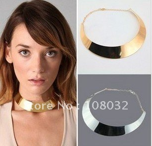 MIN.ORDER $15, fashion simple silvry elegant necklace, free shipping by CPAM on MIN.ORDER $15(China (Mainland))