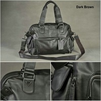 2012 fashion men shoulder bag,men PU messenger bag,Leisure bag free shipping MB002