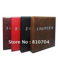 coin album/coin collection book /cion stock book/coin holder with mixed sheets retail /wholesale Free Shipping