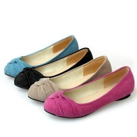 9 Colors Big size  Wholesale  2012 new sxey Fashion PU Fashion Shoes Falts Round Toe womens shoes HHSH-H08-h09