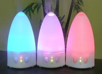 essential oil diffuser with colorful LED light
