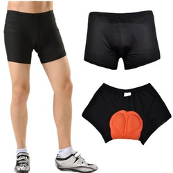2013 New Cycling Underwear 3D Padded Bike/Bicycle Base/Shorts/Pants/Under Black SIZE S-3XL(China (Mainland))