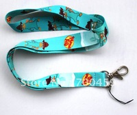 Free Shipping   1pc blue PHINEAS FERB for Mobile Phone LANYARD Neck Strap Charms gift