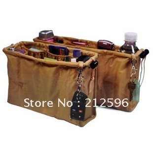 free shipping Kangaroo keeper Purse Handbag Organizers  Beige ,Cheaper Incredible Canvas bag Organizer