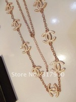 2012 hot fashion sexy exquisite letters pearl necklace